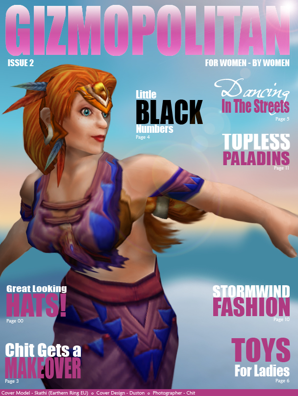 Gizmopolitan Issue 2 - Click to Continue!